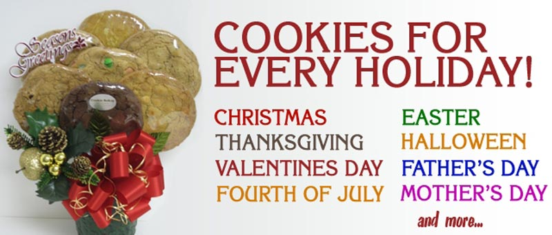 Holiday Cookie Bokays